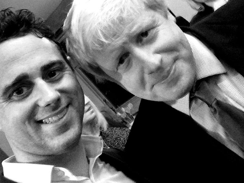 Morgan Rothwell Boris Johnson