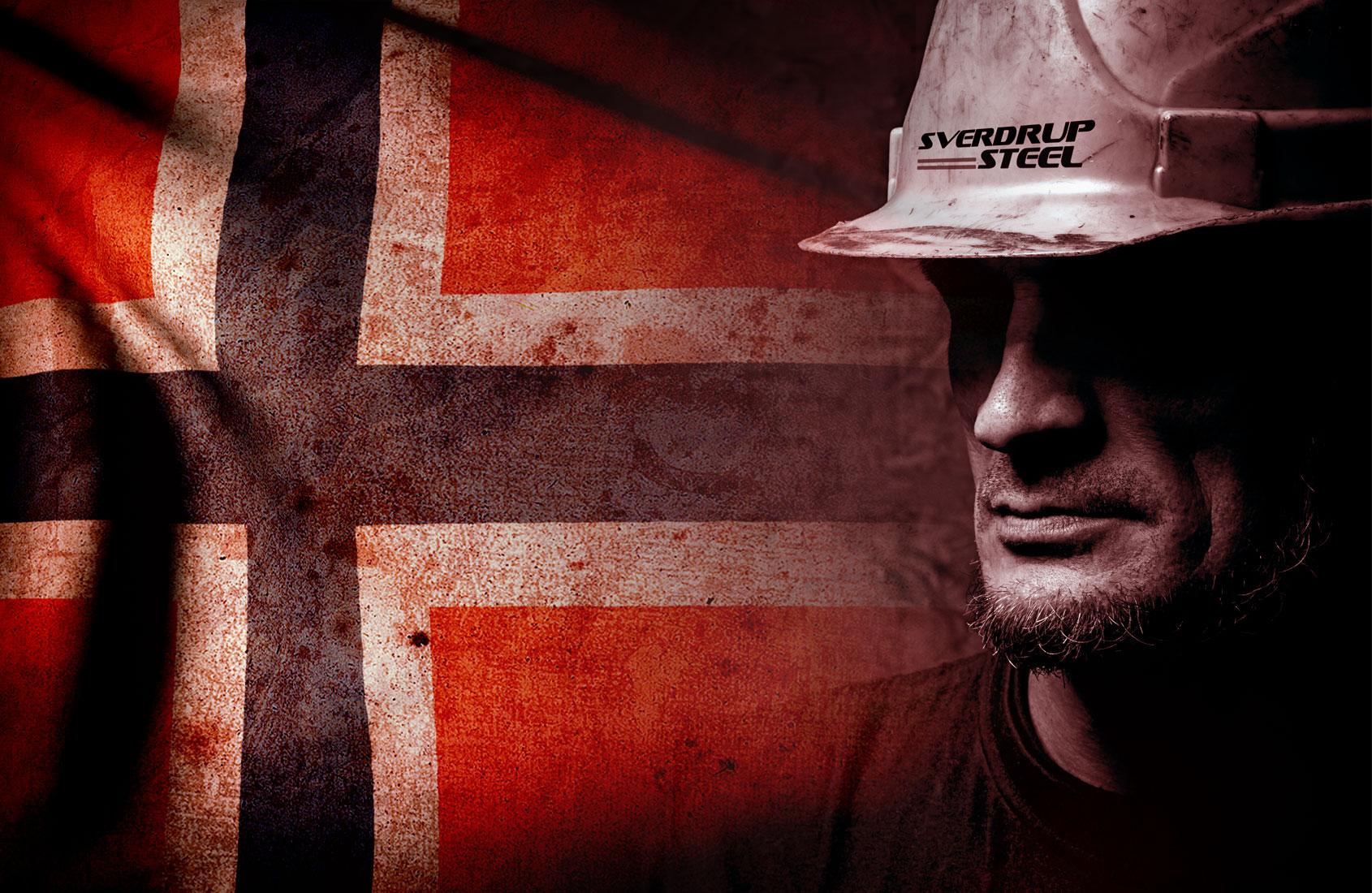 Sverdrup Steel Norway Advertising Concepts