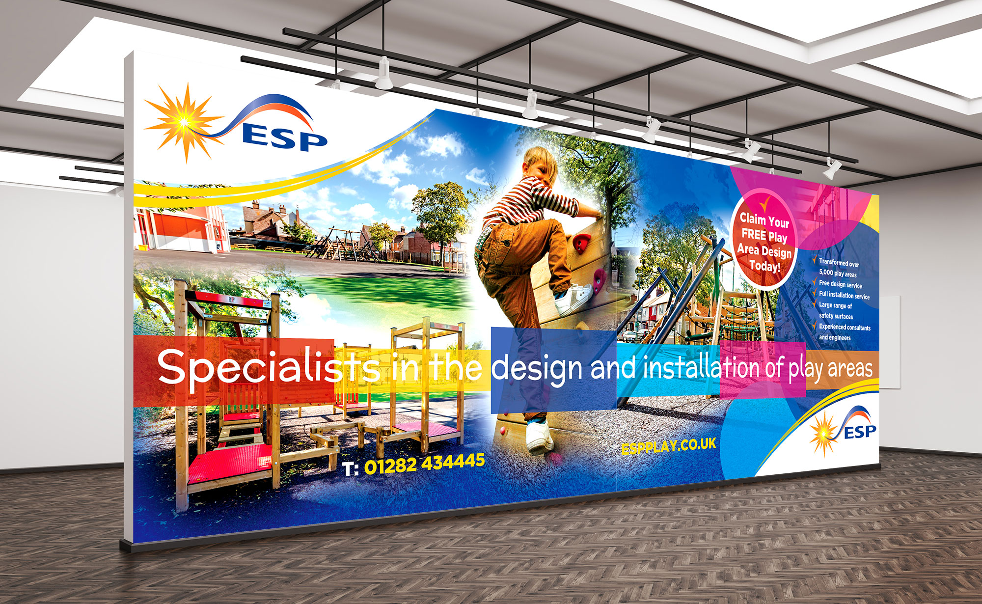 ESP Play Exhibition Stand Design