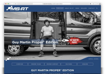 Ford MS-RT Website With Guy Martin