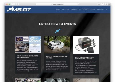 Ford MS-RT Website Latest News