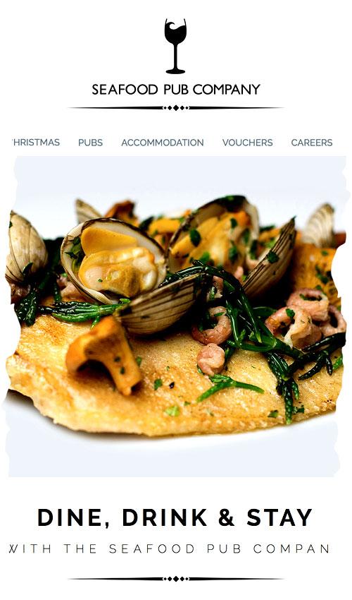 Seafood Pub Company Food
