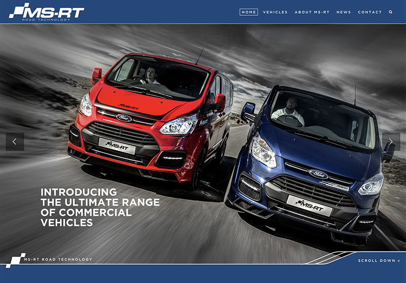 Ford MS-RT Transit Connect Commercial Vehicles Website