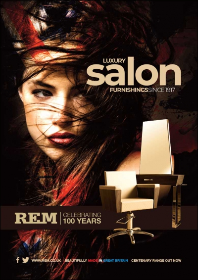REM Men Advertising Concept Salon Style