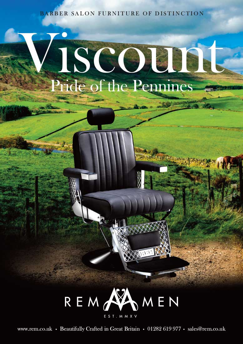 REM Men Advertising Concept Viscount