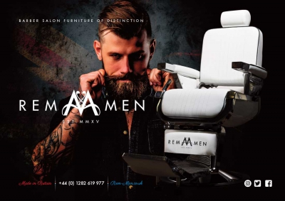 REM Men Advertising Concept Barbershop