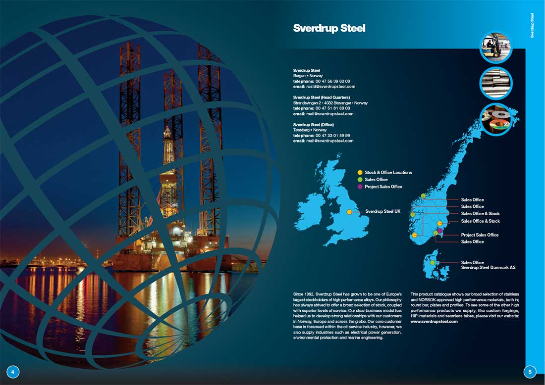 Sverdrup Steel Technical Brochure