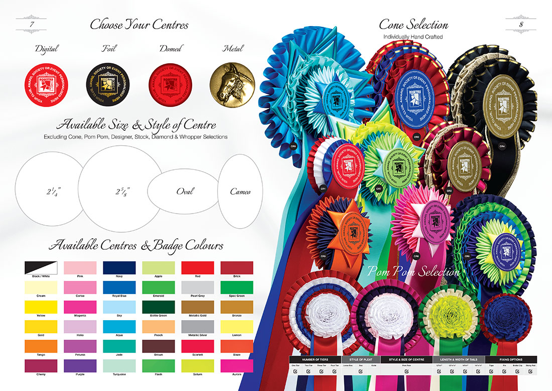 Rosettes Direct Brochure Design