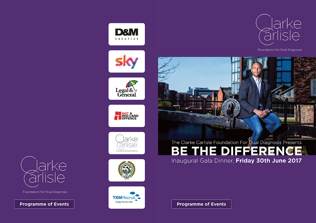 Clarke Carlisle Promotional Document