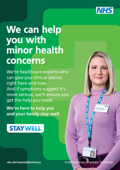 NHS Staywell This Winter Advert