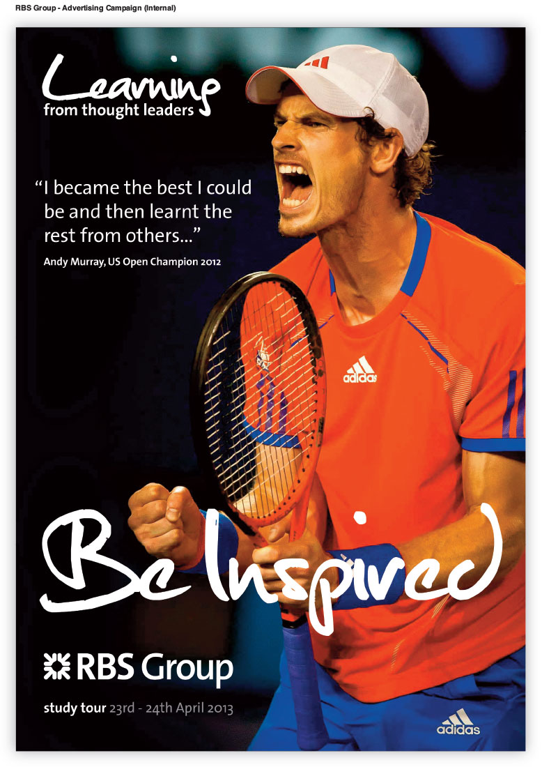 RBS (Royal Bank Of Scotland) Advertising Campaign Andy Murray