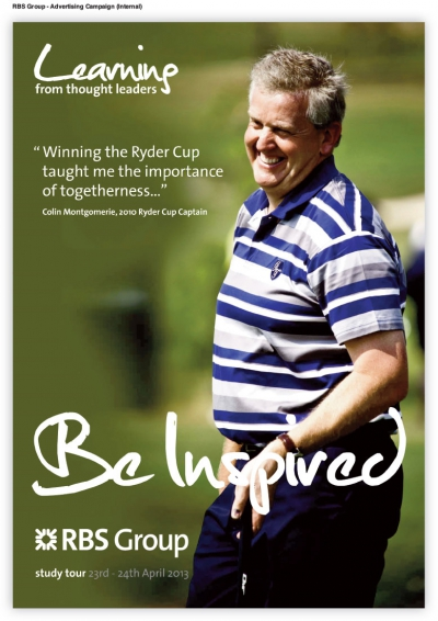 RBS (Royal Bank Of Scotland) Advertising Campaign Colin Montgomerie