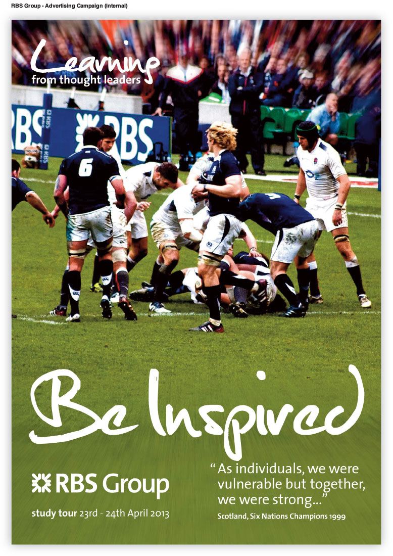 RBS (Royal Bank Of Scotland) Advertising Campaign