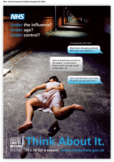 NHS Alcohol Awareness Advertising Campaign