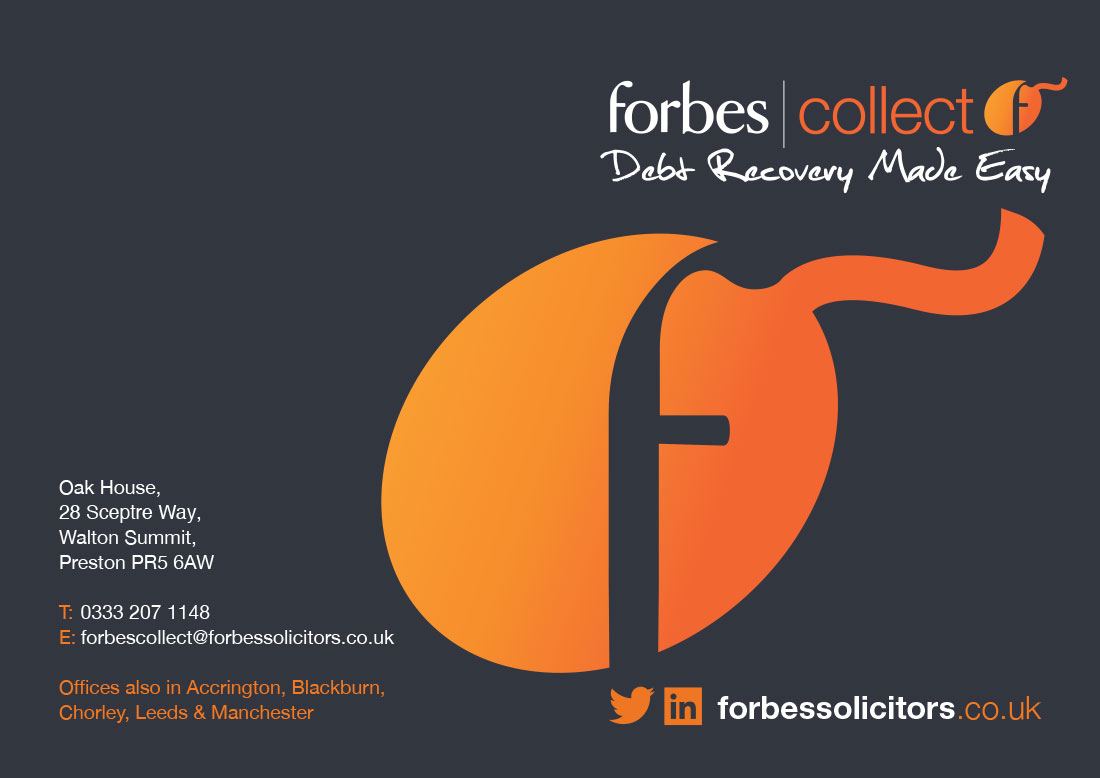 Forbes Solicitors Collect Brand Identity