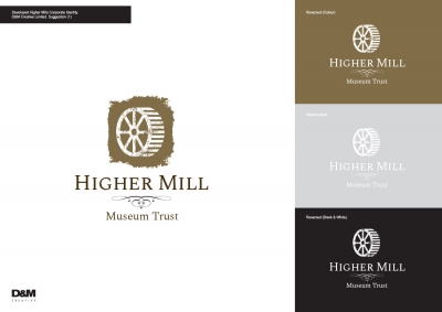 Higher Mills Corporate Identity Logo