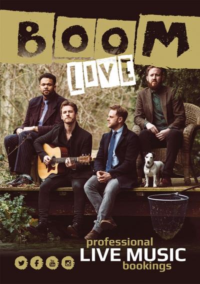 Boom Live Band Leaflet
