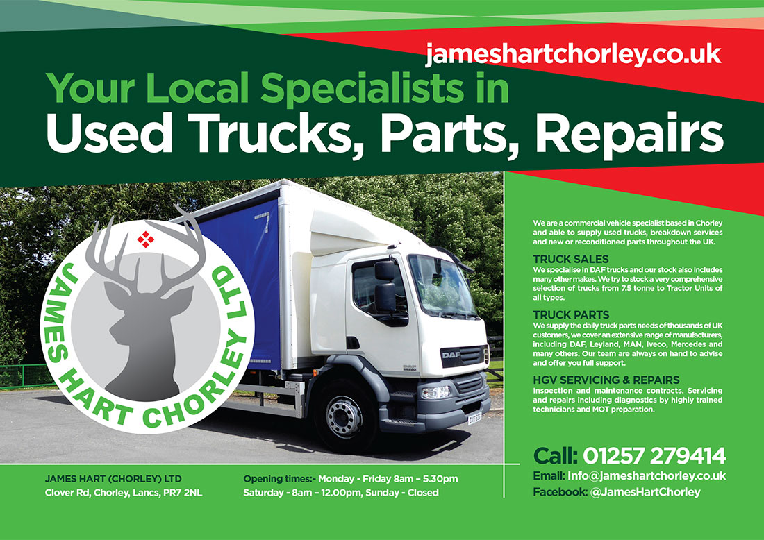 James Hart Chorley Advert Commercial