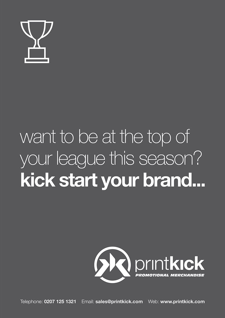 PrintKick Advertising Concept