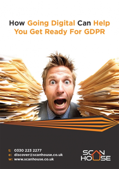 Scan House GDPR Advert