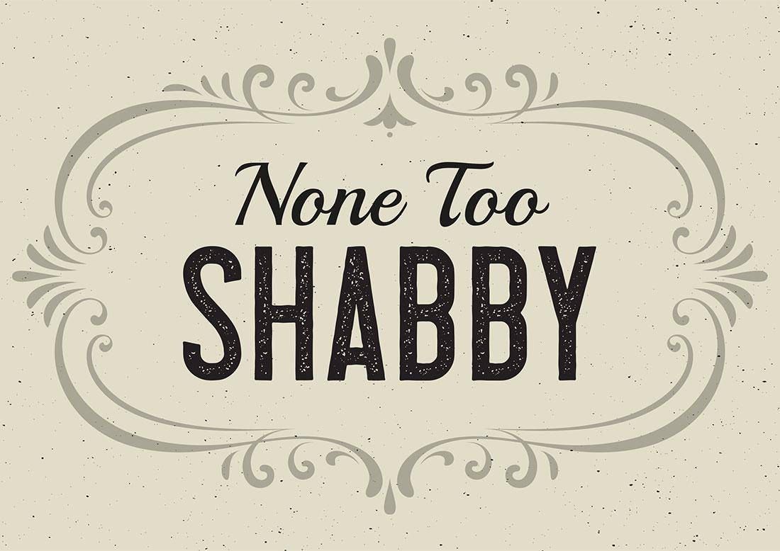 Non To Shabby Logo Identity