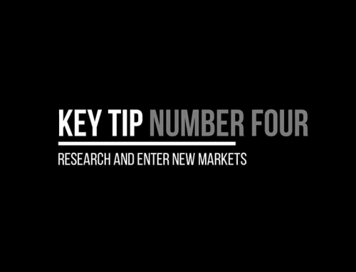 Tip 4 – Research & Enter New Markets